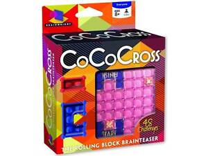 COCO-CROSS-ROLLING-BLOCK-PUZZLE-BRAIN-TEASER-MIND-BENDER-NOVELTY-TRICK-TOY-GAME