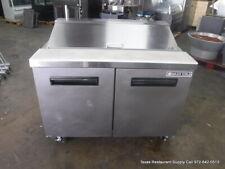Maxx Cold Mcr 48s 48 2 Door Sandwich Prep Table On Casters