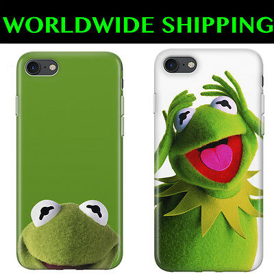 Conscientious Muppets Kermit The Frog Cover Black Case For Iphone 4/5/c/se 6/6s 7/7plus X To Ensure A Like-New Appearance Indefinably Cell Phone Accessories