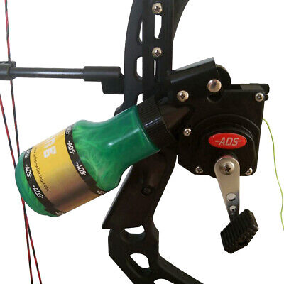 Archery Bowfishing Spincast Big Game Retriever Pro Reel for Compound Recurve Bow