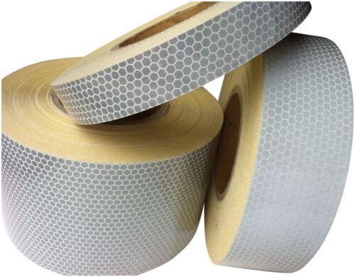 High Intensity Reflective Tape HiViz 25mm,50mm /& 100mm * 1m,2m,2.5m,3m,4m /& 5m