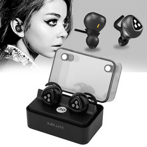Syllable D900 mini True Wireless Bluetooth Stereo Headphones Earphones Headset V