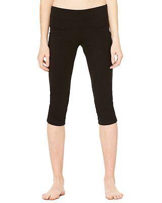 Bella Womens Cotton Spandex Capri Fit Leggings 811 S-2XL Yoga Running Capris