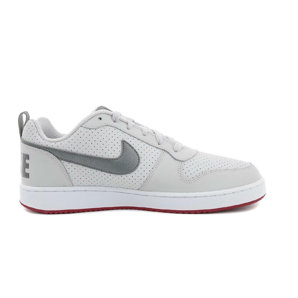 Herren Nike Hof BGoldugh Niedrig Große Graue Sportschuhe 838937 004