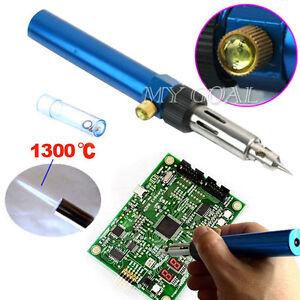 Gas-Blow-Torch-Solder-Iron-Gun-Soldering-Butane-Cordless-Woolelding-Pen-Burner