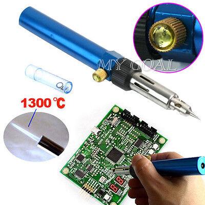 Gas Blow Torch Solder Iron Gun Soldering Butane Cordless Woolelding Pen Burner