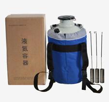 Yds 6 6l Protable Cryogenics Liquid Nitrogen Container Cryogenic Ln2 Tank Dewar