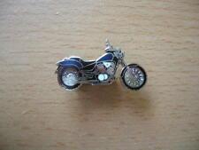 Pin Anstecker Honda Shadow VT 600 C / VT600C blau/schwarz Art 0158 Motorrad Moto