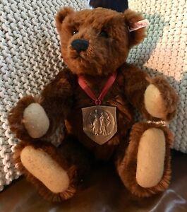 16-034-STEIFF-Louis-Bear-650789-USA-Worlds-Fair-Tribute-Signed-Growls