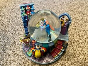 RARE-Disney-Sleeping-Beauty-Once-Upon-The-Dream-Musical-Princess-Snow-Globe-336