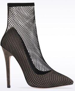New-Ladies-Womens-High-Stilettos-Heel-Sock-Style-Court-Shoes-Sizes-3-4-5-6-7-8