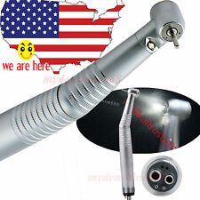 new! Dental FAST High speed E-generated LED Handpiece Standard push button 4Hole