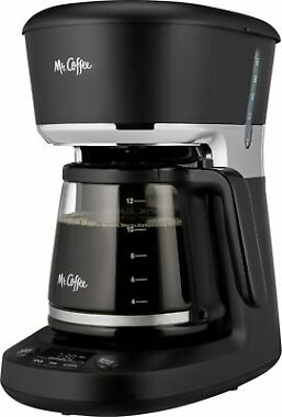 Mr. Coffee 12-Cup Programmable Coffee Maker with Dishwashable Design