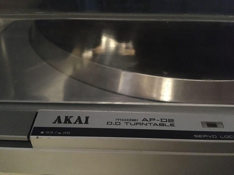 Pladespiller, Akai, AP - D2