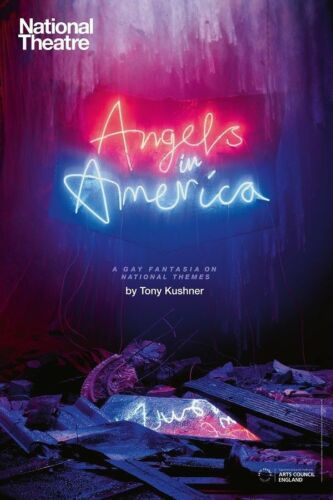 Y-1390 A Gay Fantasia On National Themes Angels in America Play 27x40 Hot Poster