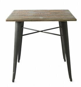 Details zu Riviera Maison Tisch Küchen Beistell Bistro Camden Lock Dining  Table 80 x 80 cm