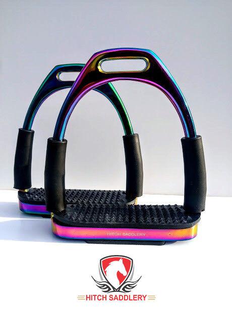 12cm Hitch flessibile Rainbow Arcobaleno sicurezza sali STAFFA SNODABILE SUPER