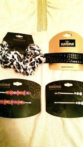 Karina French Couture Set Of 4 Barrette Bobby Pins