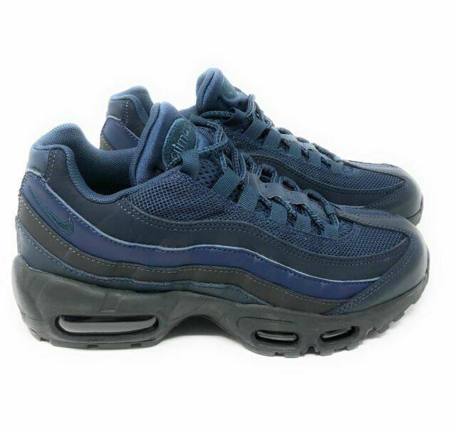 Size 7.5 - Nike Air Max 95 Essential Squadron Blue for sale online ...