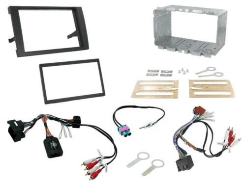 Connects2 CTKAU04 Audi A4 B7 2007-2009 Double Din Fitting Kit BLACK