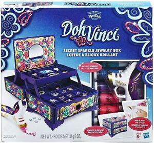 Doh-Vinci-Secret-Sparkle-Girls-Jewellery-Box-Kit