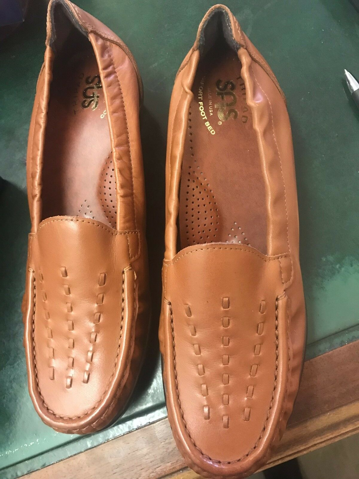 Authentic SAS shoes shoes shoes brand new never been worn  size 7.5 weave chestnut 928a1e