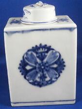 Rare Mid 18thC Meissen Porcelain Tea Caddy / Jar Porzellan Teedose Asian Design