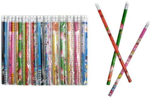 24 x Gemischte Bleistifte Bleistift Schule Giveaway Geburtstag Tombola Geschenk
