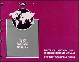 [DIAGRAM_5NL]  1997 Ford Escort Mercury Tracer Electrical Troubleshooting Manual Wiring  Diagram | eBay | 1991 Mercury Tracer Diagram Wiring Schematic |  | eBay