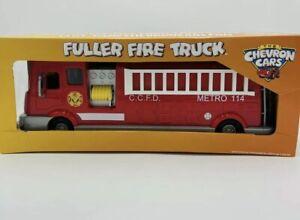 Chevron Cars Fuller Fire Truck Original Box Collectible Toy FireTruck Year 2008
