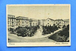 Cartolina-Genova-Piazza-Martinez-1936