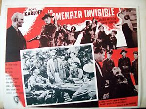 THE-INVISIBLE-MENACE-BORIS-KARLOFF-1938-OPTIONAL-SET-MEXI