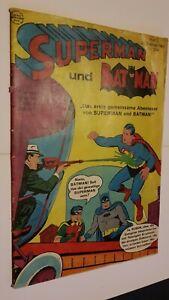 Supermann Nr.3 von 1967,Zustand 3 Feb. Ehapa,Comic,Superhelden,Sammlung,Vintage