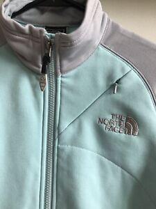 Details zu North Face Women's Zip Jacket, GreyBlue, Flight Series, Size XS