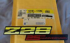 NOS 1992 Z28 Camaro 25th ANNIVERSARY DASH EMBLEM rare 92 original GM!