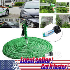 US SHIP 25 50 75 100 ft Magic Quality Home Garden Expandable Pocket Water Hose