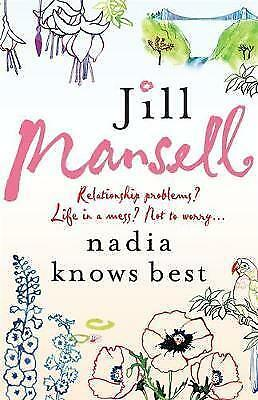 """""""AS NEW"""" Mansell, Jill, Nadia Knows Best, Paperback Book"""