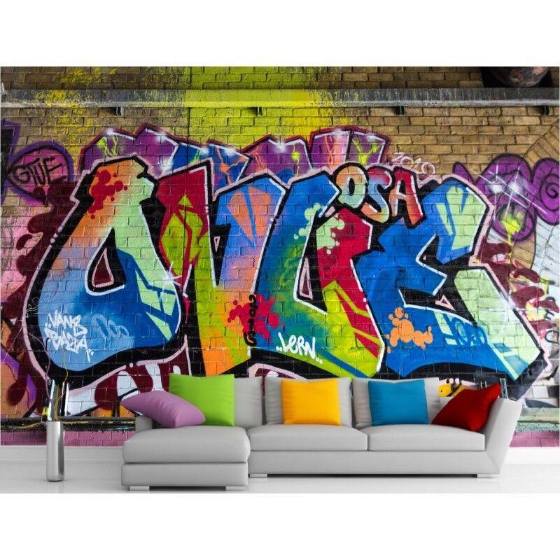 Adesivi Murale Gigante Decocrazione  Graffiti 11128
