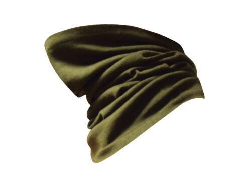 Snood Headover vert-laine-Utilisée-Grade 1 état