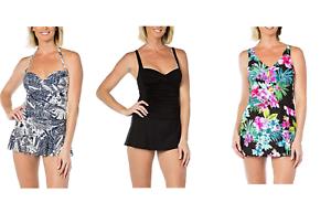 ab2c2d0d3ad33 Image is loading NEW-Rose-Marie-Reid-Ladies-039-Swim-Dress-