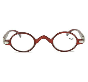 c428602d01 Small Round Oval Vintage Retro Reading Glasses Readers Eyeglasses +1 ...