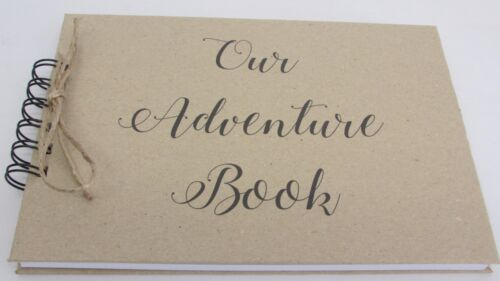 A5 Our Adventure Book Memory Book Scrapbook Album Gift Keepsake Present
