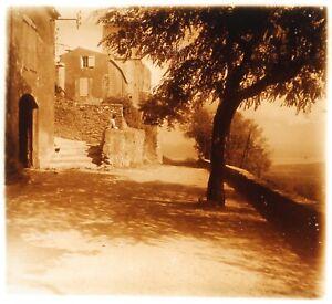 Francia Sud Da La Francia c1930 Foto Placca Da Lente Stereo Vintage VR16L21n2
