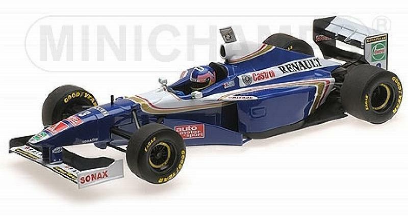 Williams FW19 Renault World Champion 1997 Jacques Vill 1 18 MINICHAMPS 186970003