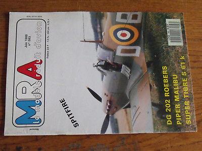 16µµ Revue Mra N°583 Dg 202 Spitfire Piper Pa 46 Malibu Aile Longeron Tubulaire Prezzo Moderato