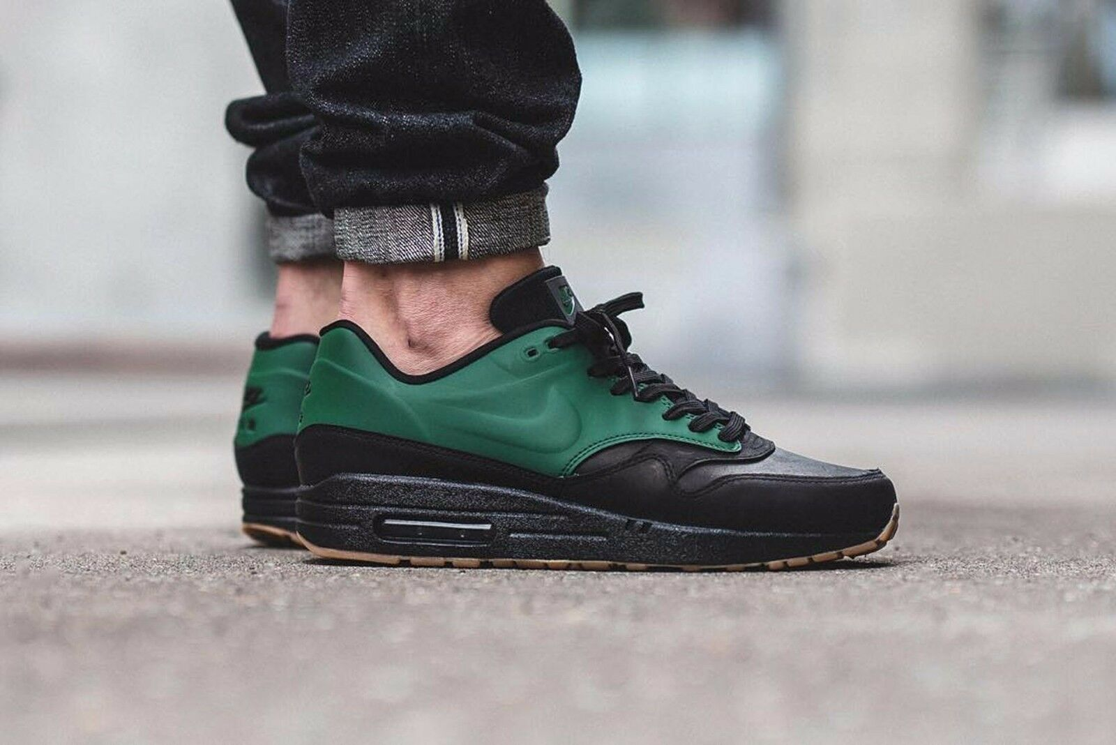 "Nike Air Max 1 VT QS Shoe Mens size 11  ""Gorge Green"" 831113-300"