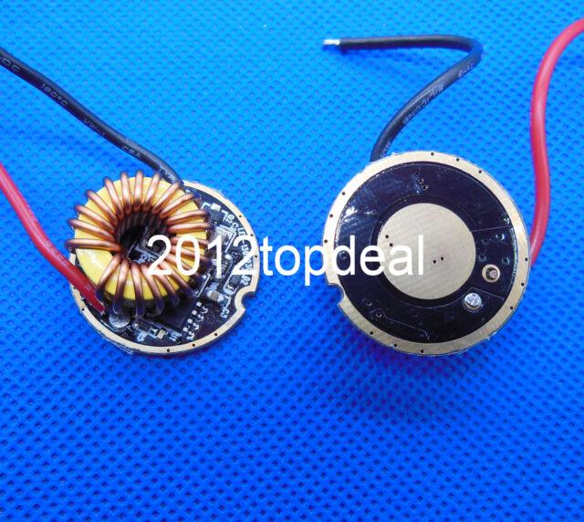 1 Mode Cree XLamp XHP70 LED Driver 6V 4A 26mm Diameter