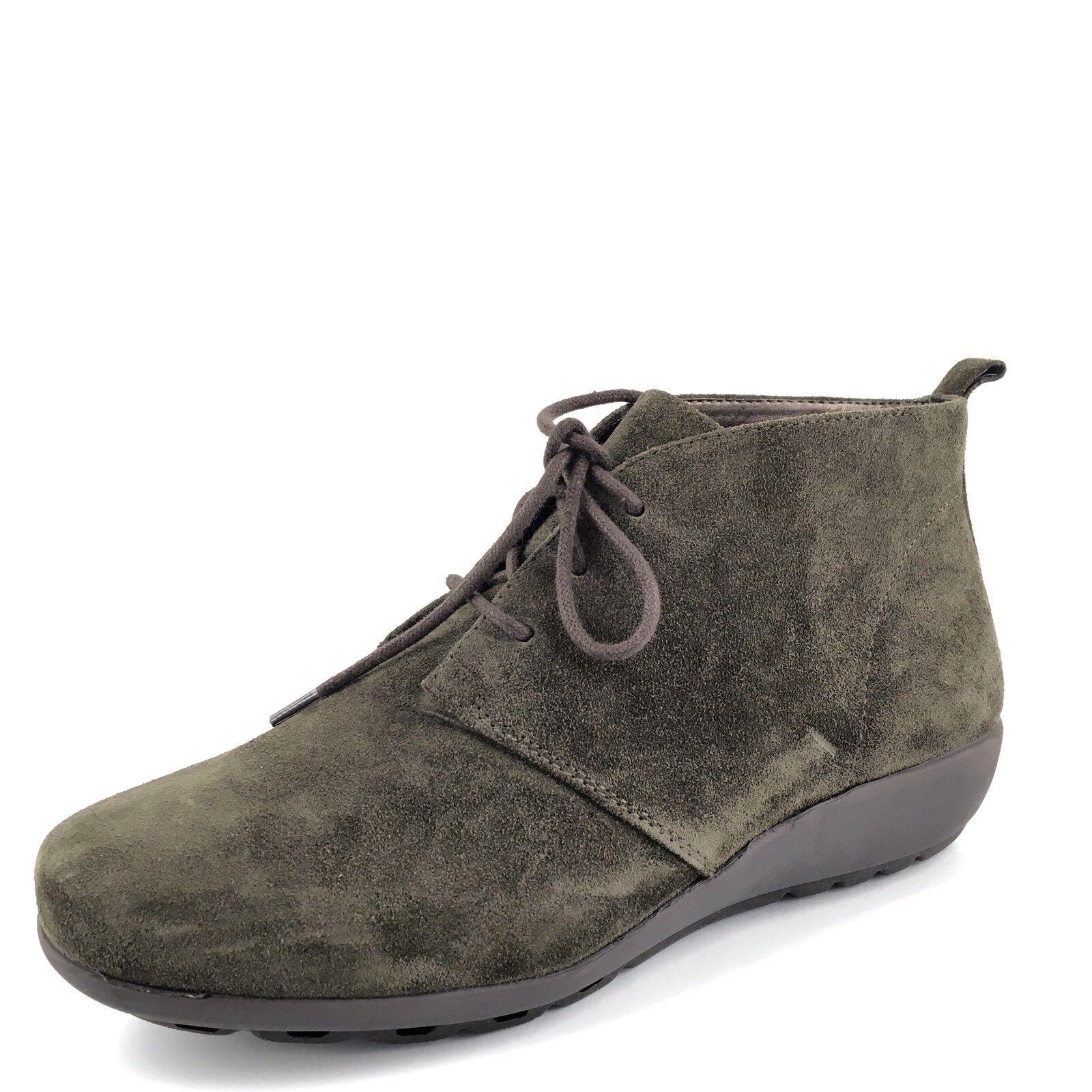 New Easy Spirit Olive Suede Wedge Ankle Stiefel Damenschuhe Größe 6.5 M