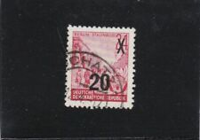 DDR: MiNr. 439 aII g XI, gestempelt, BPP Attest, Jahrgang 1954