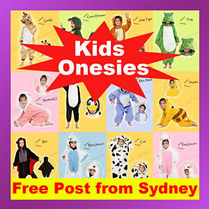 Kids Children's Unisex Kigurumi Animal Cosplay Costume Onesiz Pajamas Sleepwear